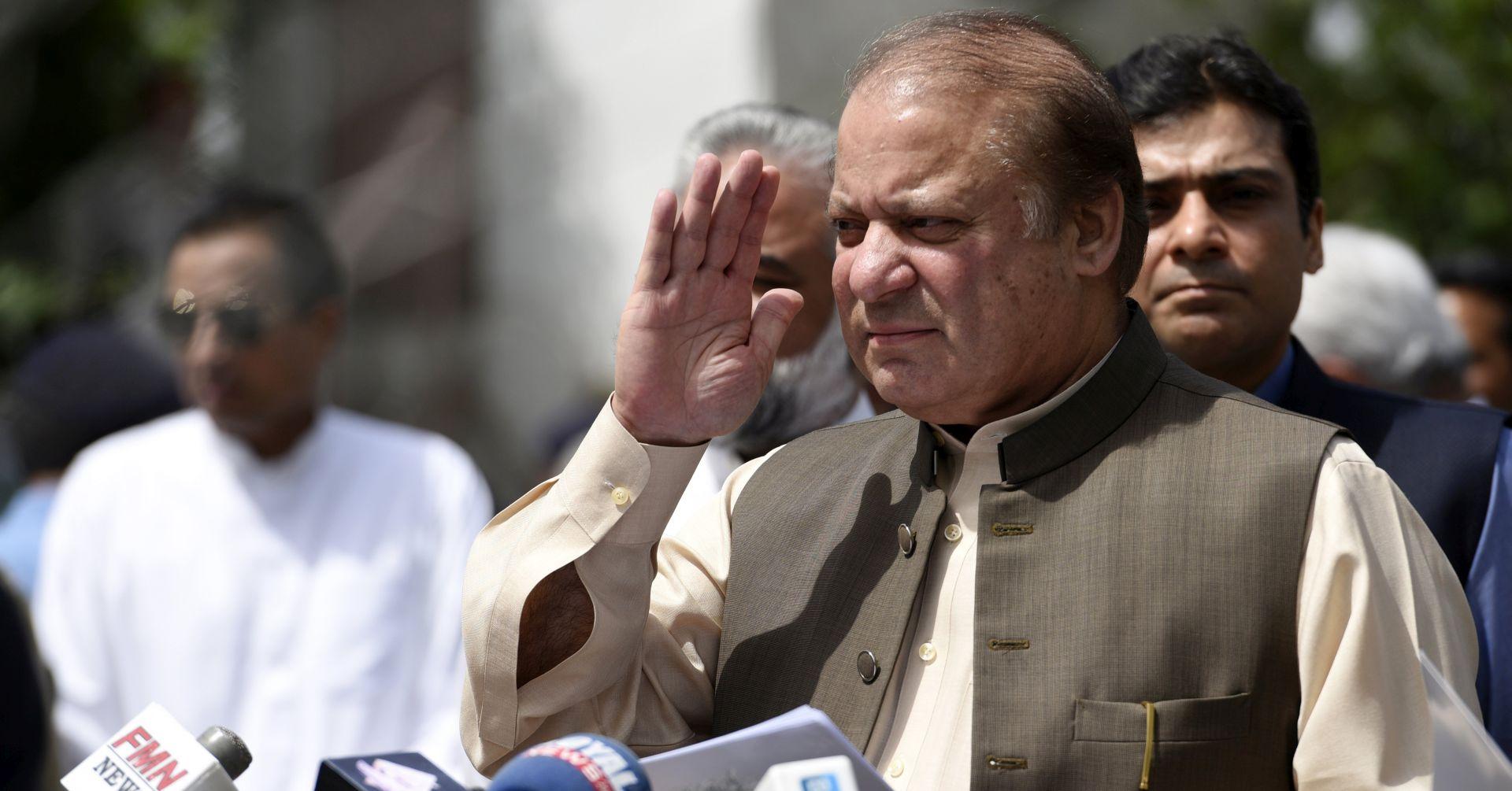 PAKISTAN Premijer Nawaz Sharif podnio ostavku