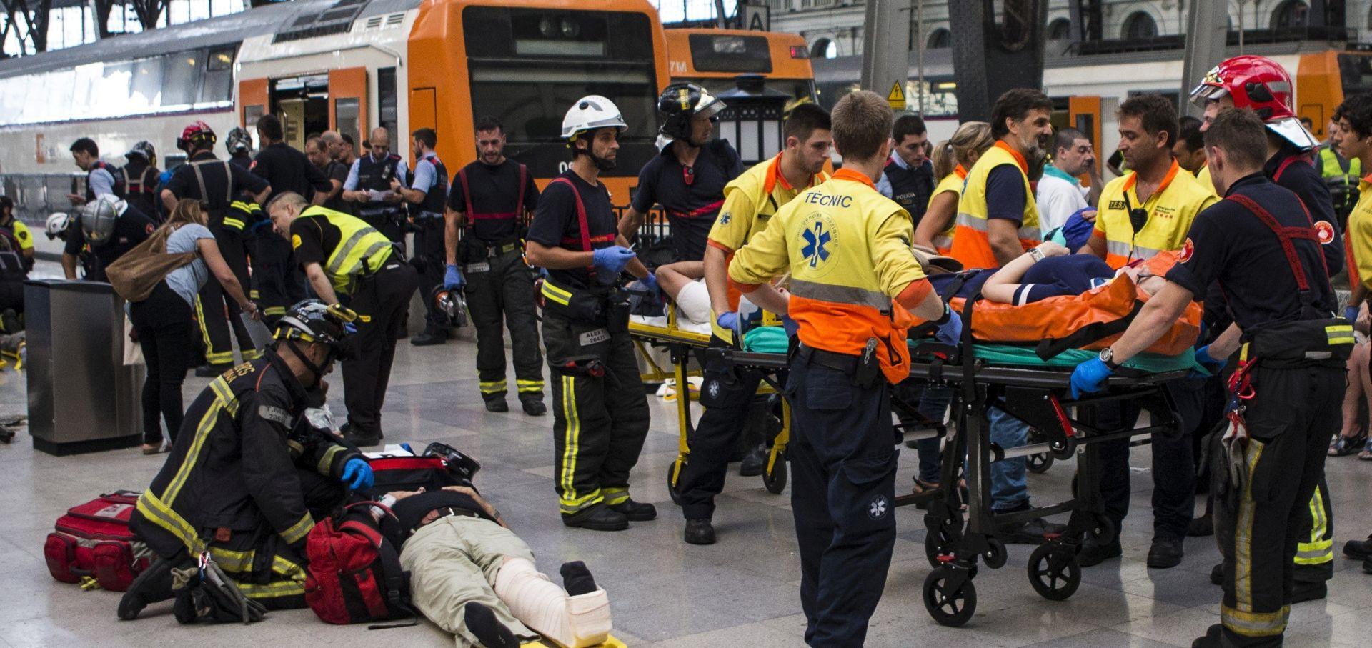 U željezničkoj nesreći u Barceloni 54 ozlijeđenih