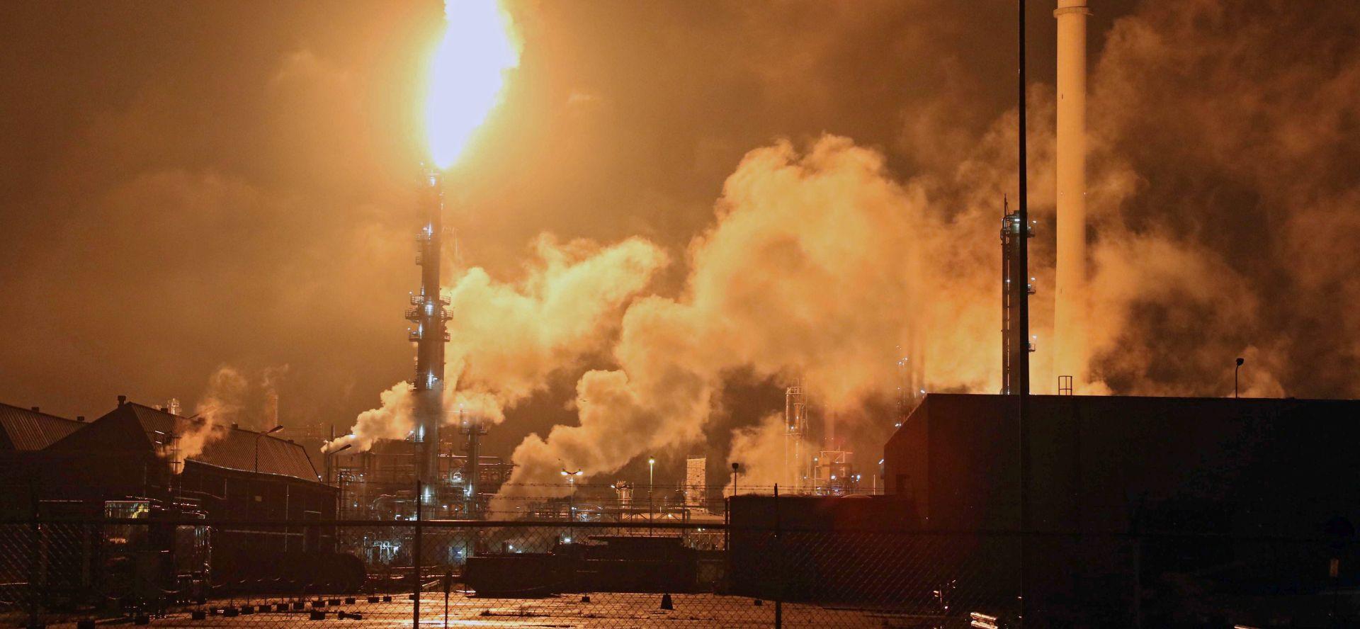 NIZOZEMSKA Buknuo požar u najvećoj europskoj rafineriji