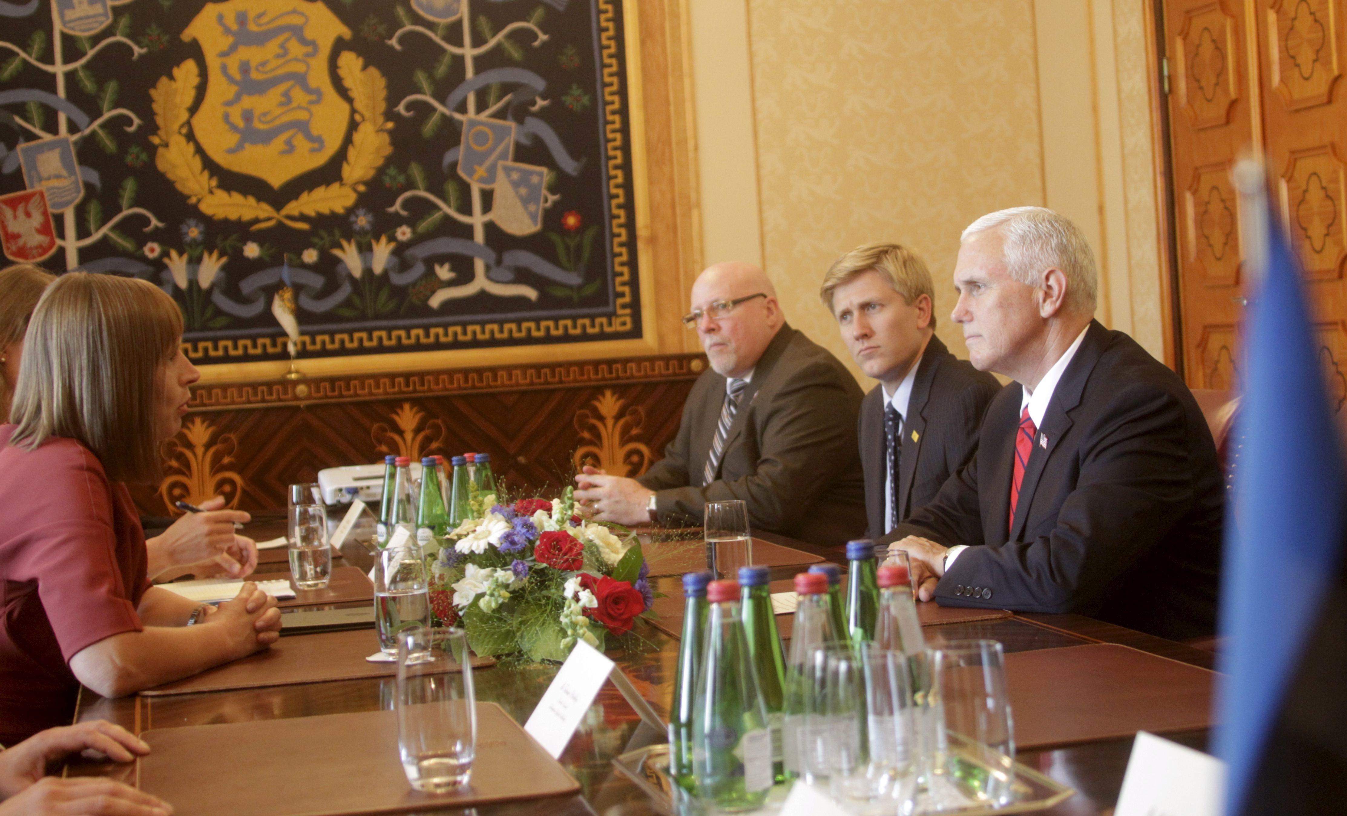 Pence na Baltiku, izrazio potporu kolektivnoj obrani NATO-a