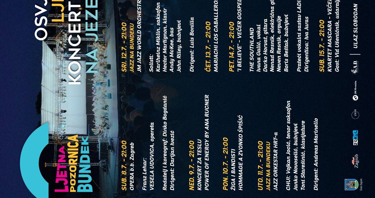 'Večer fada' zatvara program na Ljetnoj pozornici Bundek