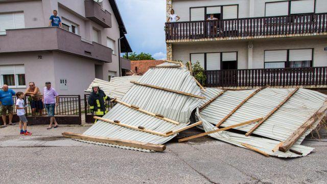 U Velikoj Gorici pijavica odnijela krov