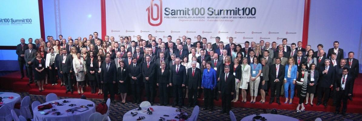 Šesti godišnji SUMMIT100 poslovnih lidera jugoistočne Europe