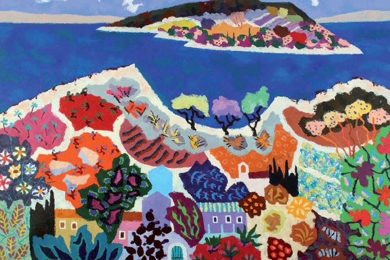 Vedri korčulanski rajski vrtovi Stipe Nobila