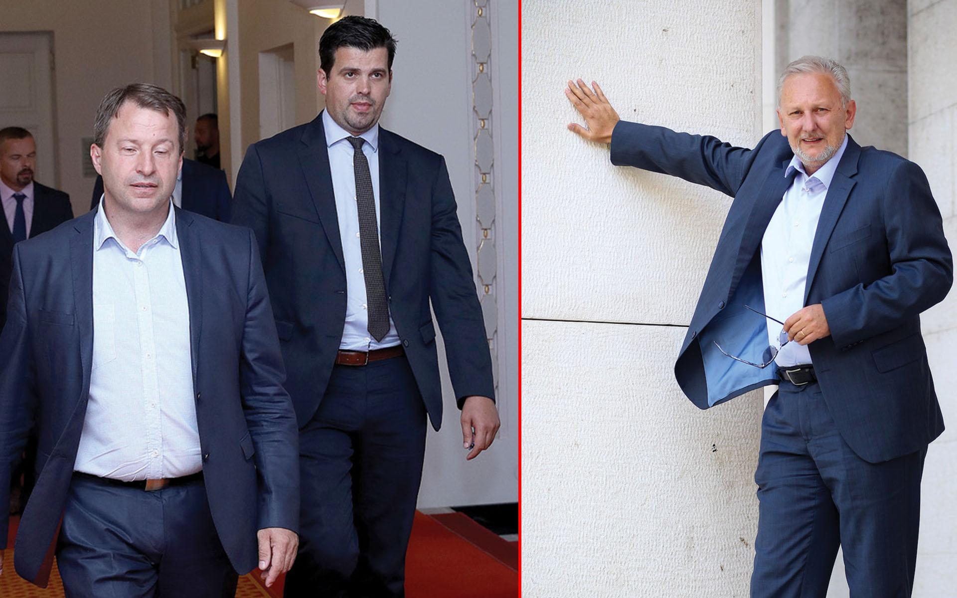 Čikotić: 'Božinović mi je u siječnju rekao da će Most platiti zbog protivljenja privatizaciji HEP-a'; Božinović: 'To je apsolutna neistina'