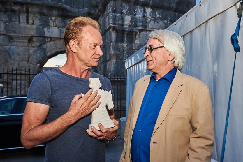 FOTO: Stingu u Puli uručen Porin za posebna dostignuća u glazbi