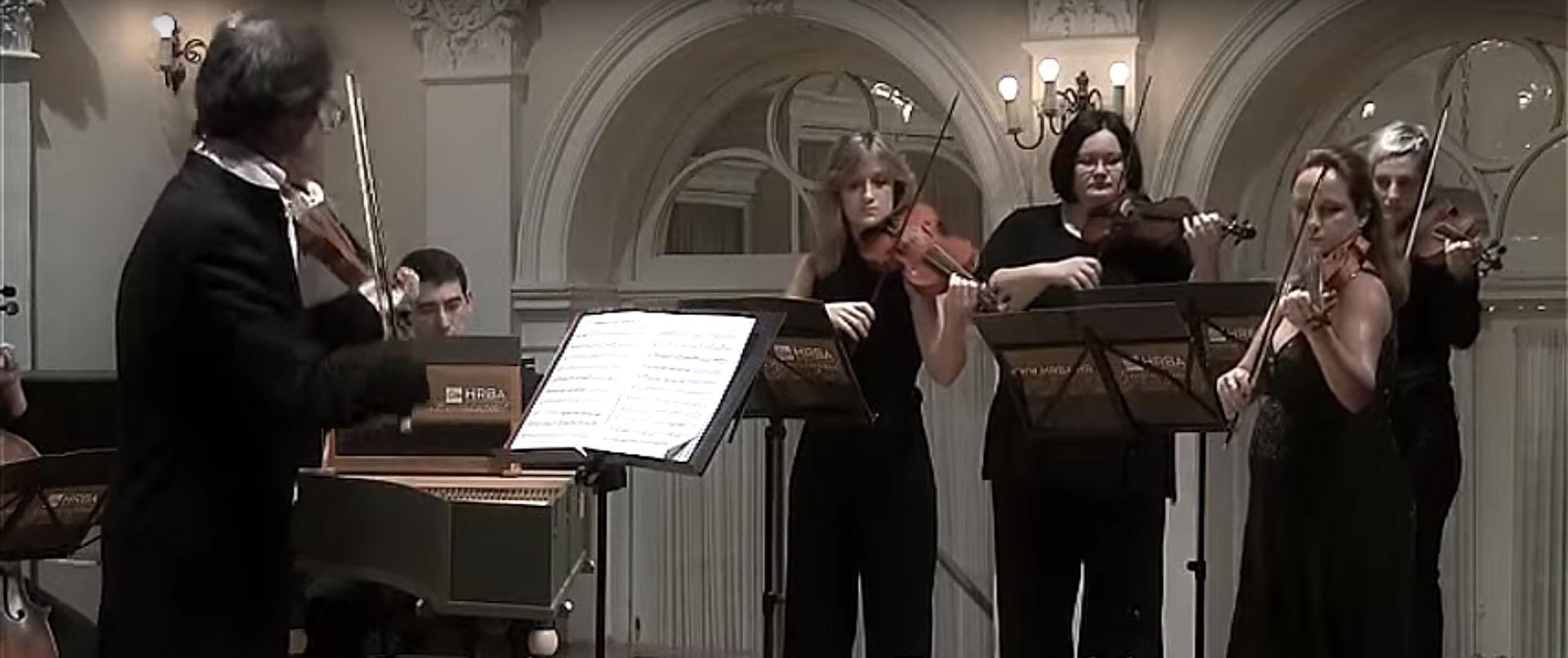 """DUBROVNIK Hrvatski barokni ansambl izveo program """"Viaggio musicale"""""""