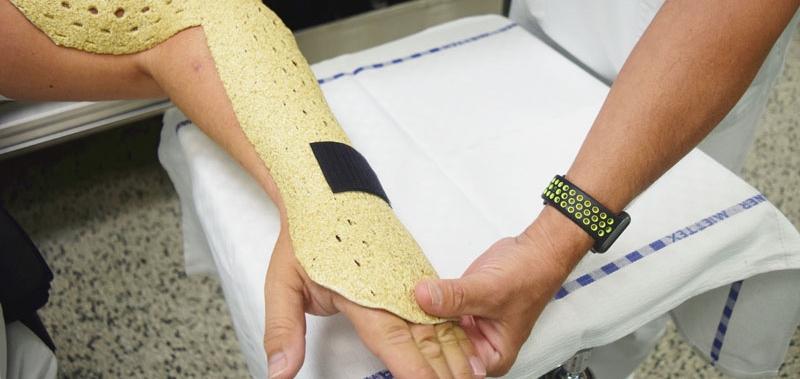 FOTO: Bečka bolnica koristi novi materijal za imobilizaciju