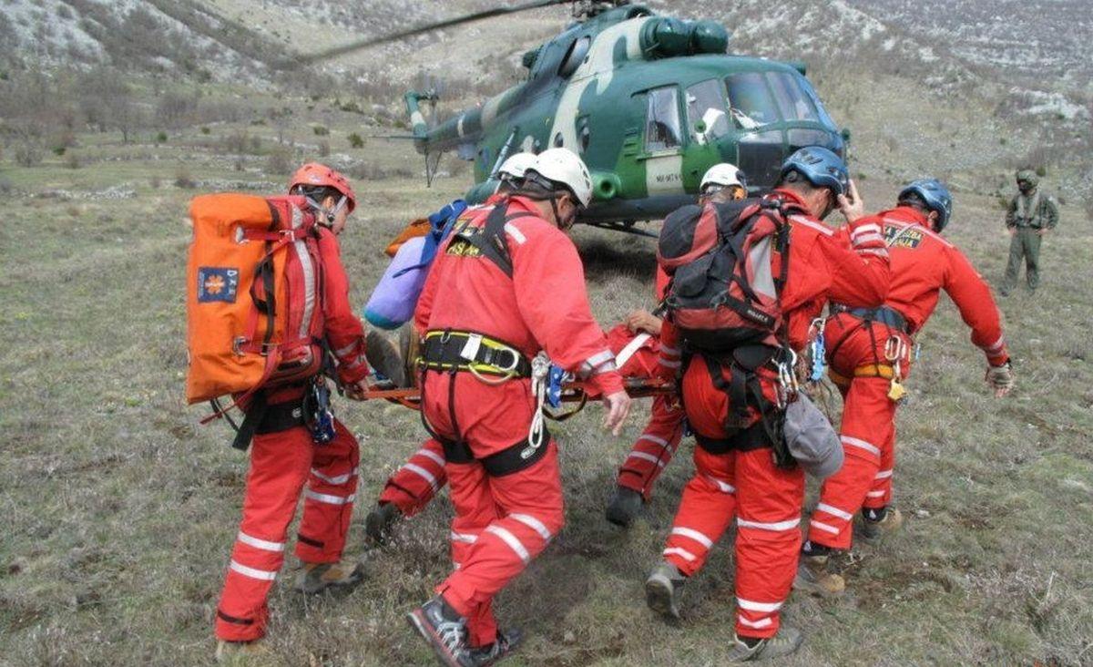 AKCIJA SPAŠAVANJA Spasitelji HGSS-a satima čekali helikopter