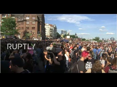VIDEO: Sukob policije i prosvjednika uoči summita G20