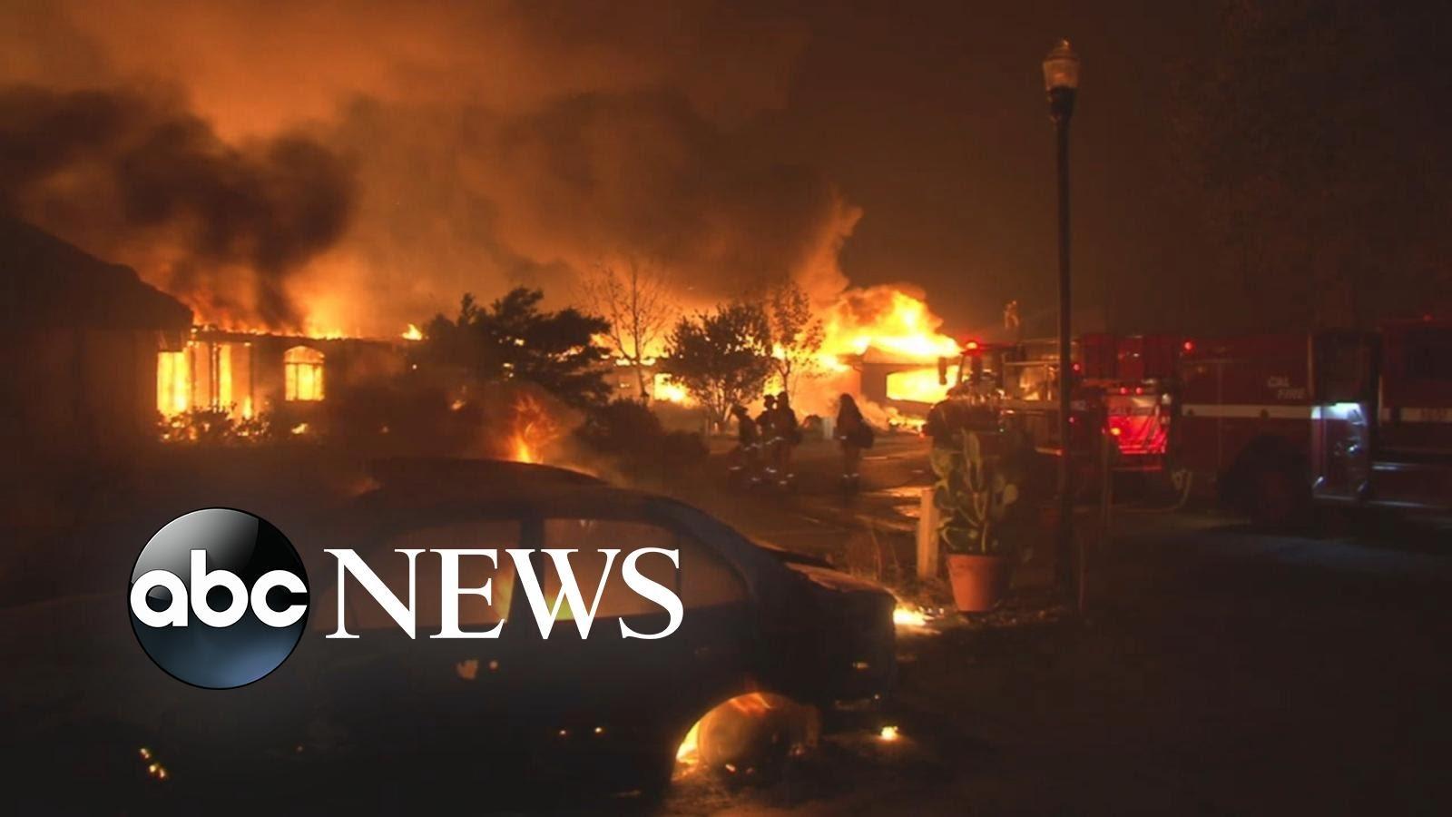 VIDEO: ŠUMSKI POŽARI U KALIFORNIJI U akciji 5000 vatrogasaca