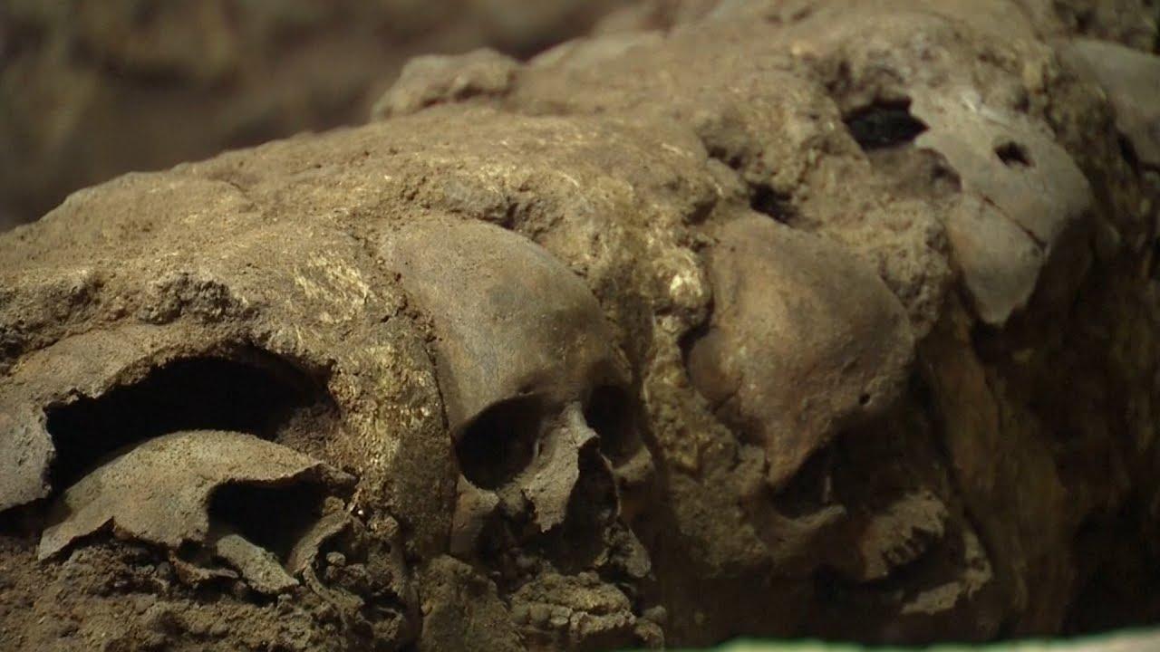 VIDEO: MEKSIKO Pronađen 'toranj' sagrađen od ljudskih lubanja