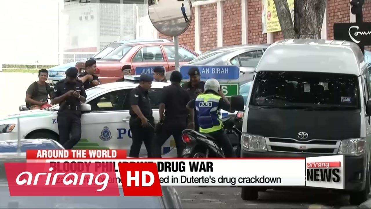 VIDEO: RAT PROTIV DROGE NA FILIPINIMA Policija ubila gradonačelnika i još najmanje 15 ljudi