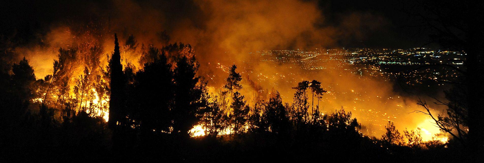 78 VATROGASACA Požar u Rupotini ugašen – izgorjelo 10 hektara