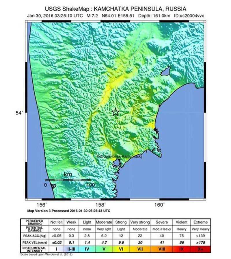 Snažan potres pogodio sjeverni Tihi ocean