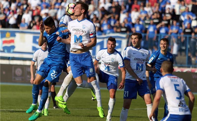 HNL Osijek – Dinamo 1-1