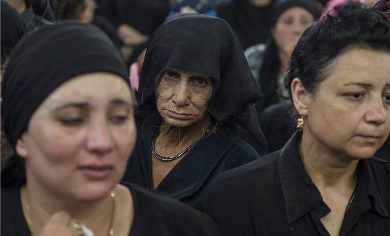 Egipatski kopti zbog sigurnosne prijetnje otkazuju svoje aktivnosti
