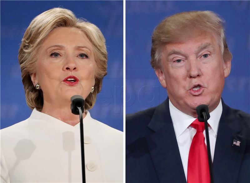 Trump bez dokaza optužio Ukrajinu za veze s Hillary Clinton