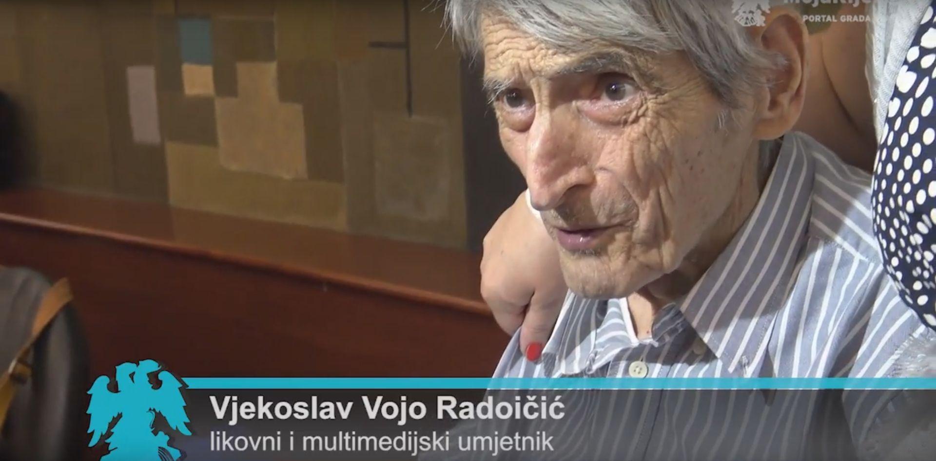 RIJEKA Preminuo veliki umjetnik Vojo Radoičić