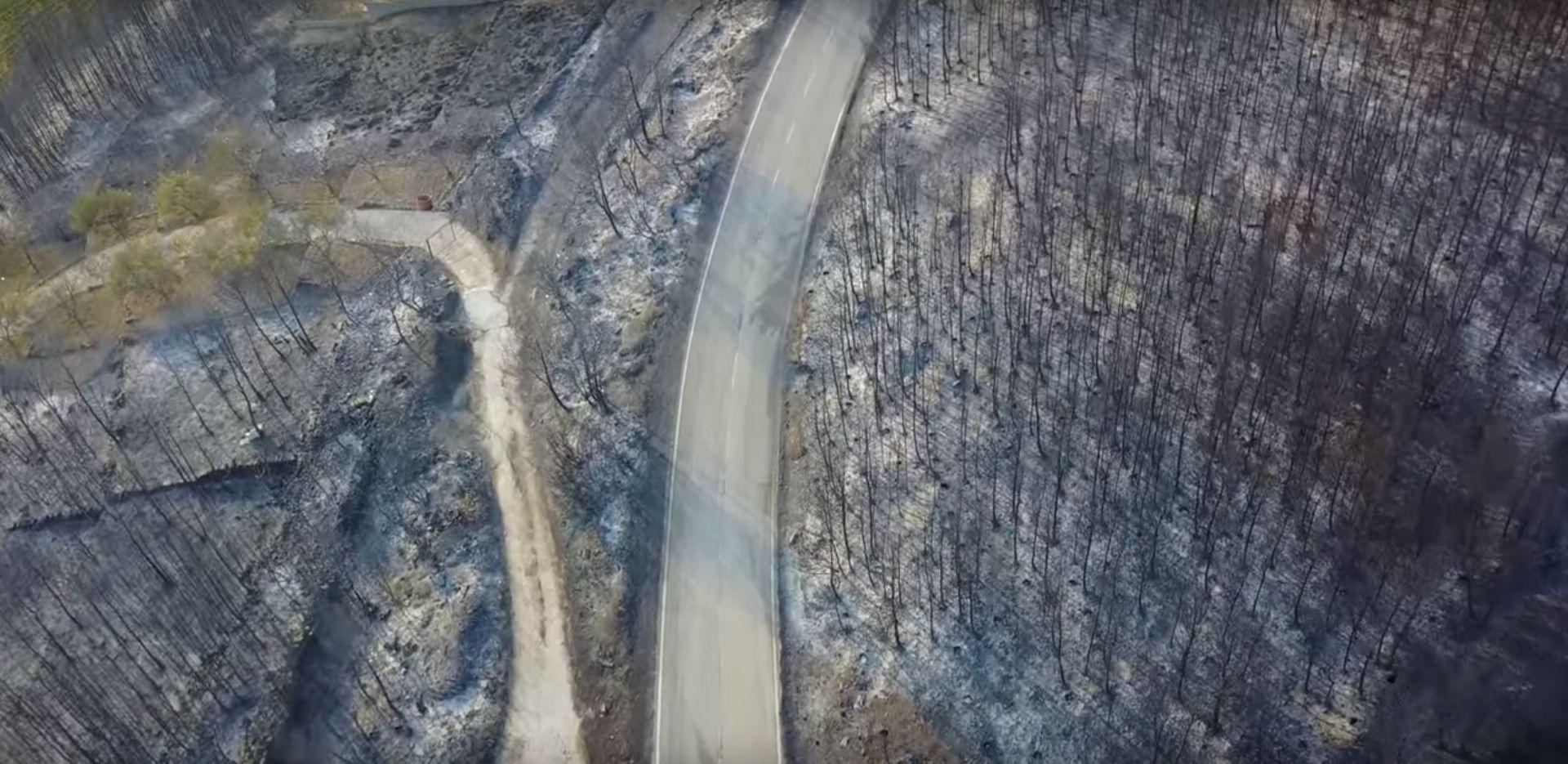 VIDEO: NOVE SNIMKE Pogledajte posljedice požara oko Splita