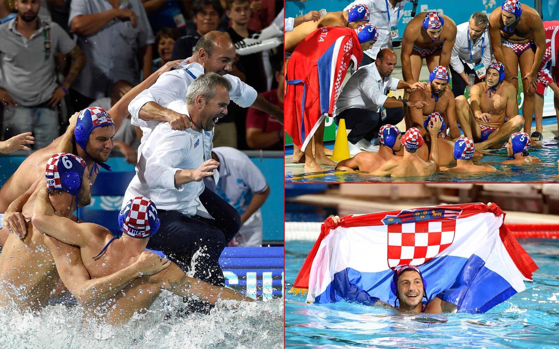 FINA Hrvatska vaterpolo reprezentacija najbolja na svijetu