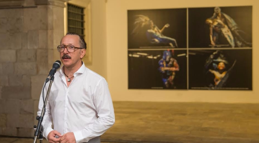 Otvorena izložba fotografija Aljoše Rebolja posvećena Tomažu Panduru