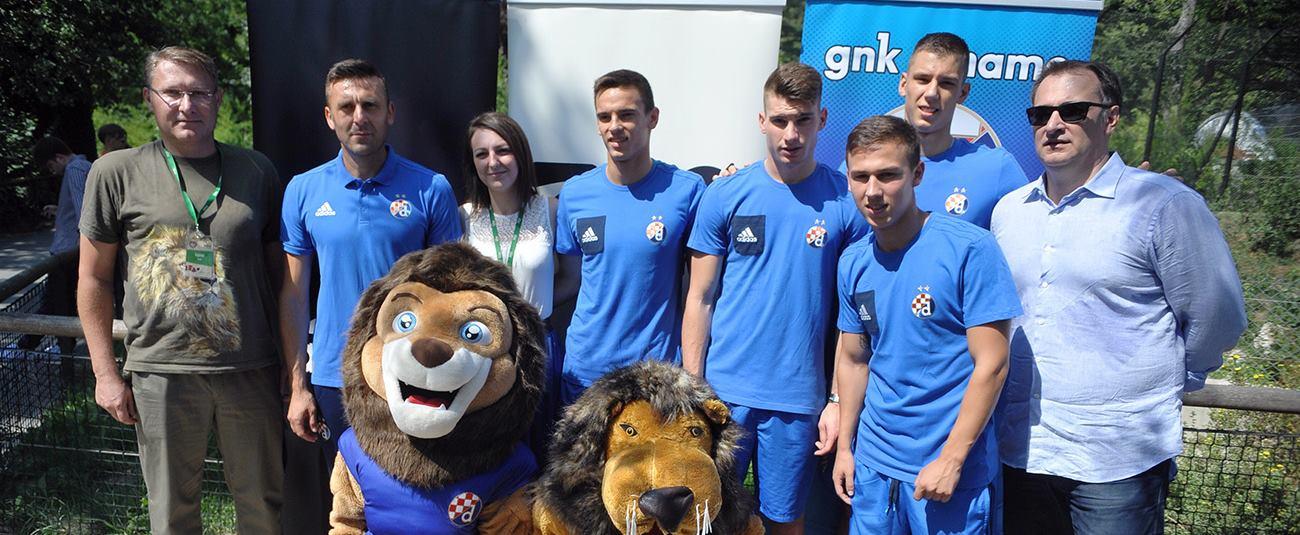 FOTO: GNK Dinamo postao pokrovitelj zagrebačke obitelji afričkih lavova