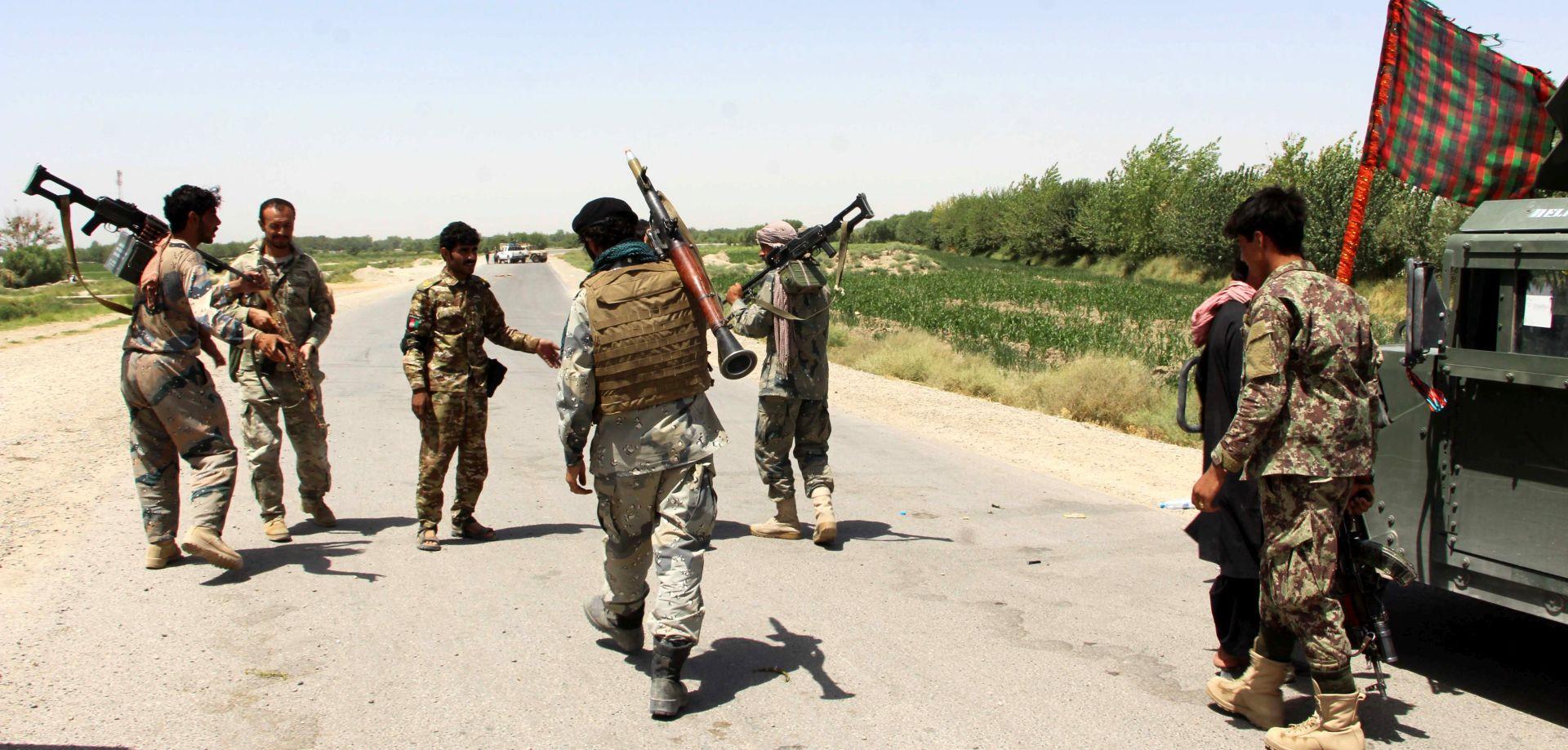 AMERIČKA VOJSKA U zračnom napadu ubijen šef IS u Afganistanu