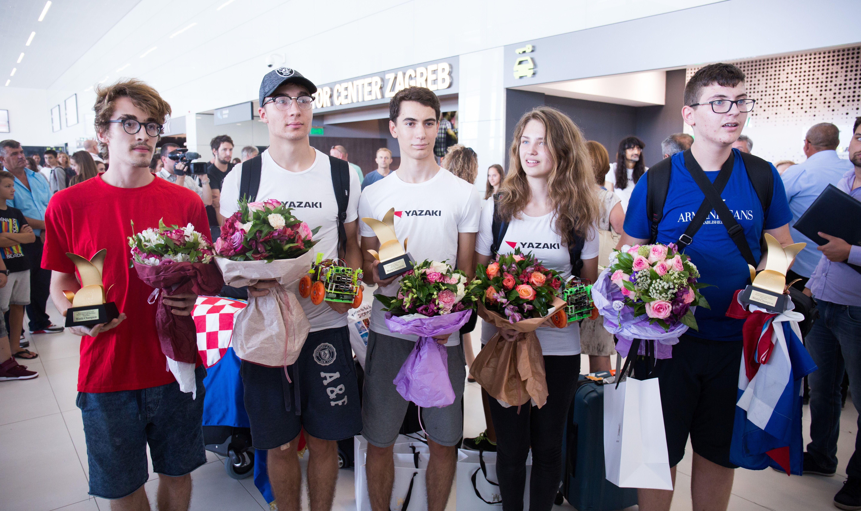 Hrvatska juniorska robotička reprezentacija u Hrvatsku donijela zlato
