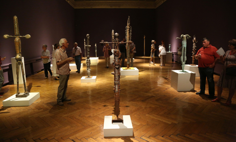 Otvorena izložba skulptura Ljubomira Stahova u Umjetničkom paviljonu