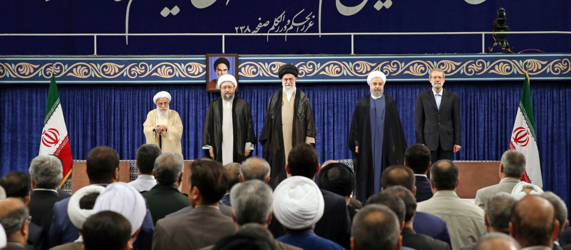 Prisežući na drugi mandat Rouhani optužio Trumpa zbog nuklearnog sporazuma
