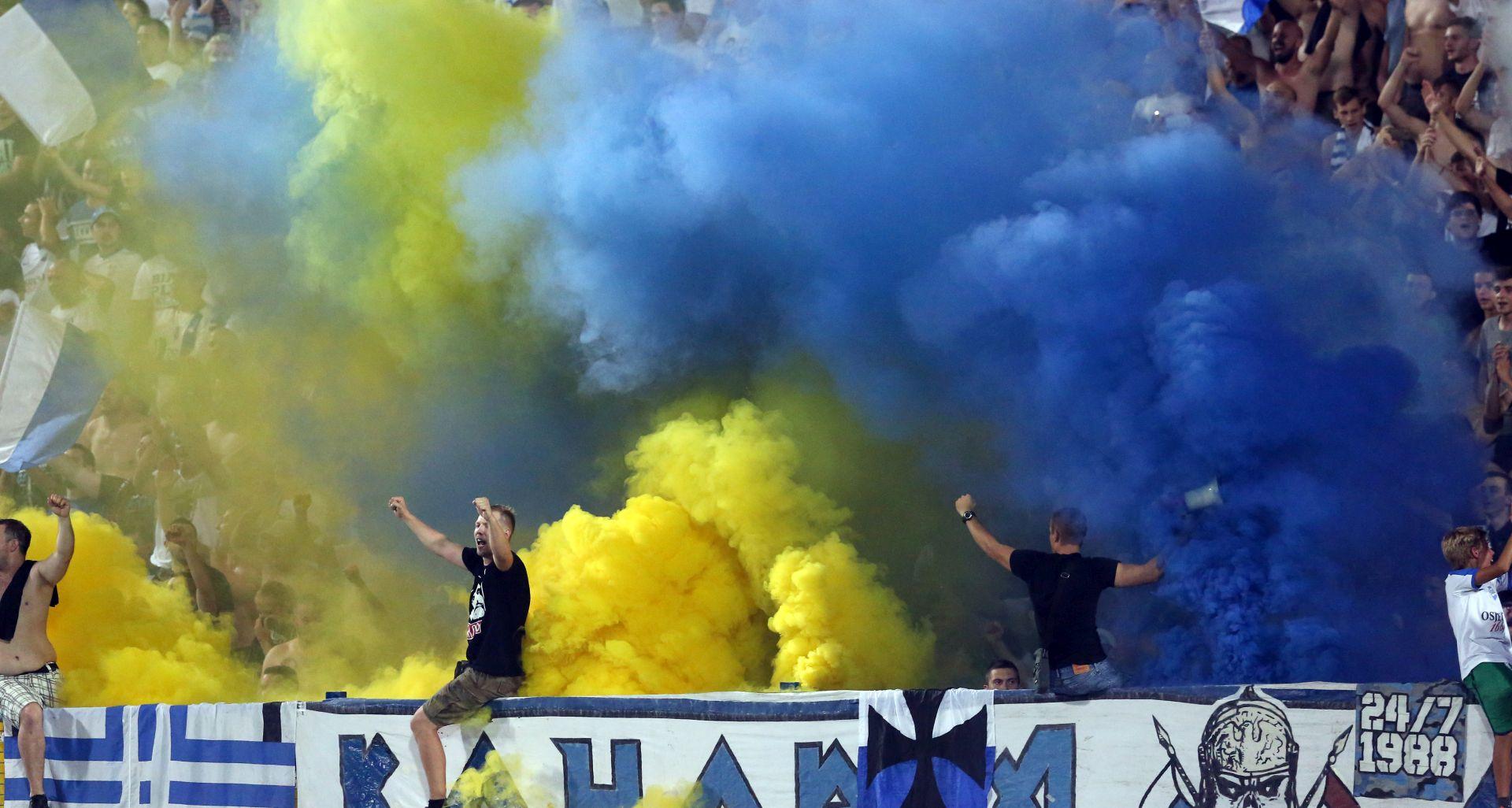 ZAJEDNO SMO HRVATSKA Riječani čestitali Dinamu, Hajduku i Osijeku