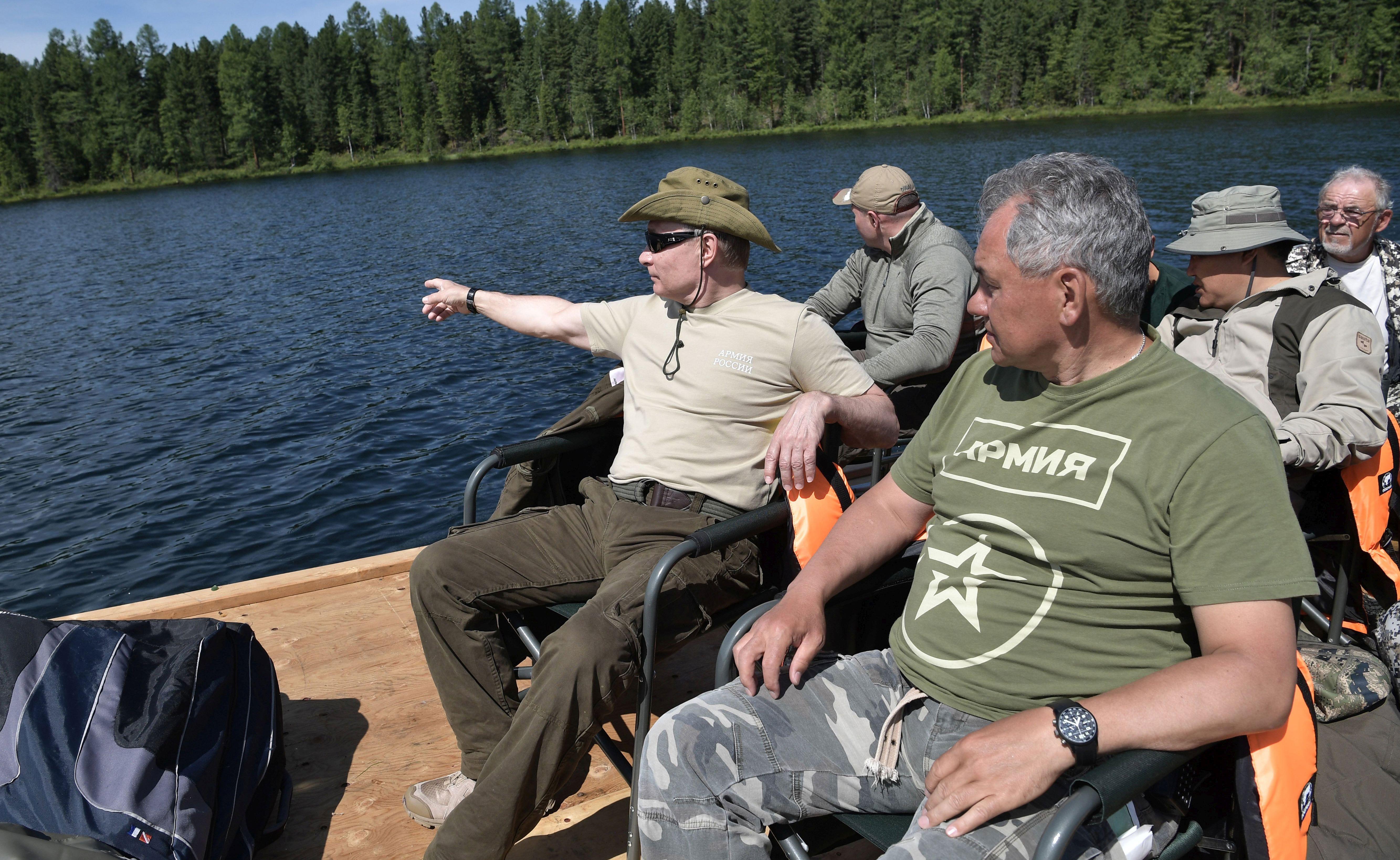 Putin proveo tri dana u lovu i ribolovu u Sibiru