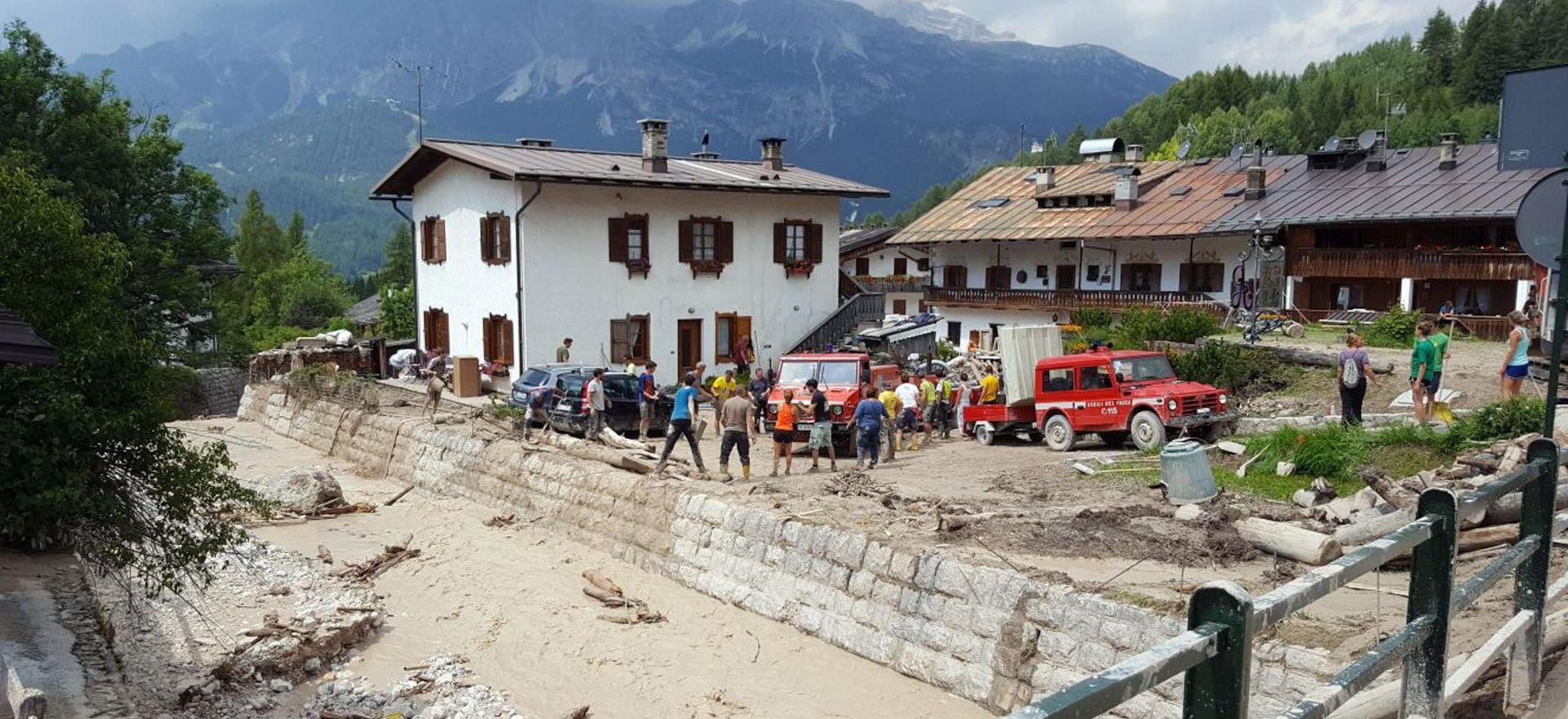 Najmanje četiri žrtve olujnog nevremena na sjeveru Italije