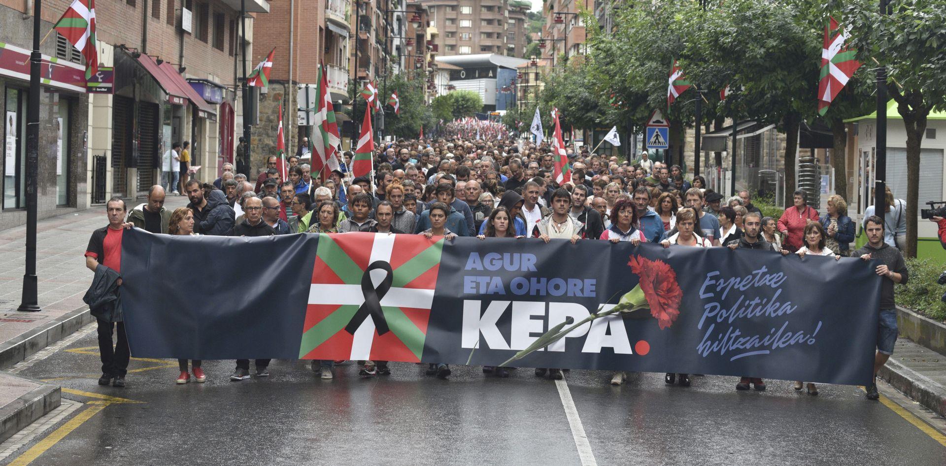 U Baskiji prosvjed nakon smrti pripadnika ETA-e u zatvoru
