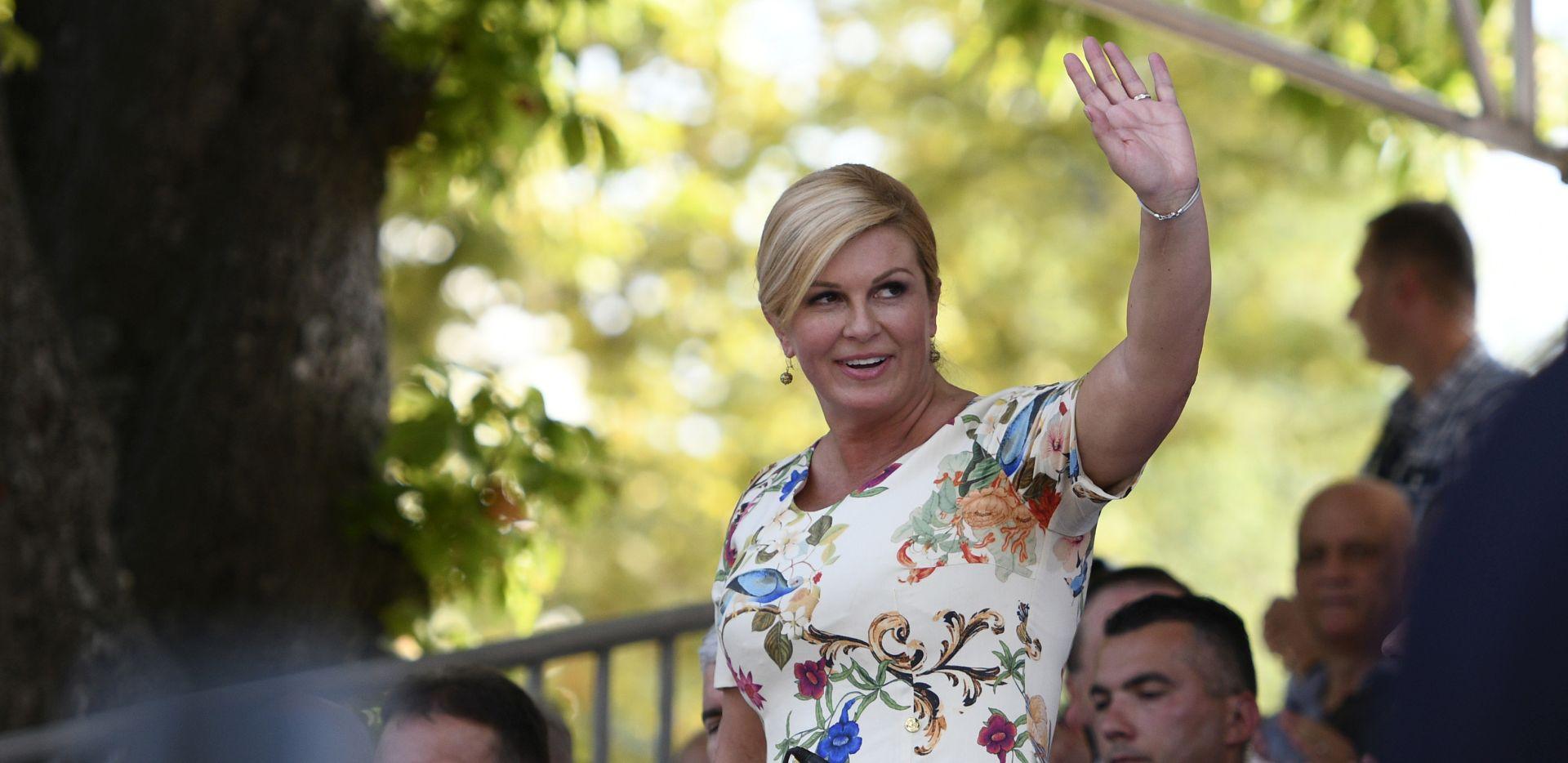 9. STANICA TURNEJE Predsjednica seli ured u Ličko-senjsku županiju