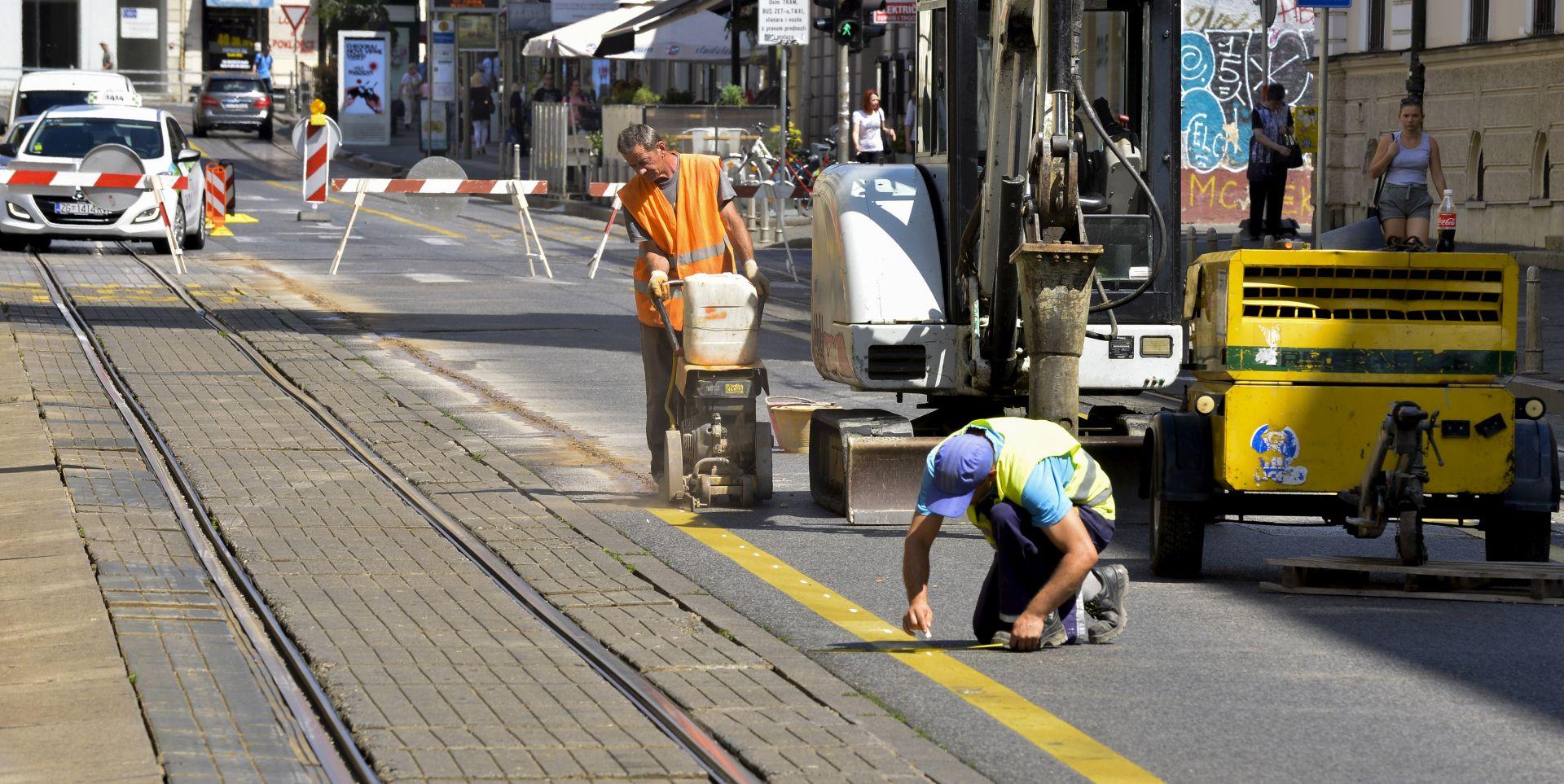 Problemi zbog ljetnih radova u Zagrebu, većina ulica se otvara do kraja kolovoza