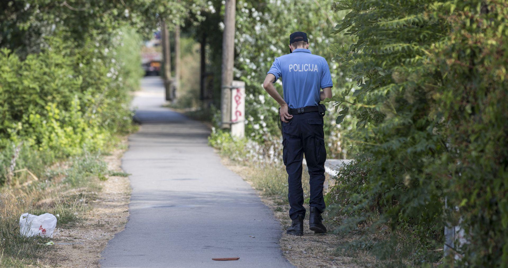 VARAŽDIN Muškarac napao policajce