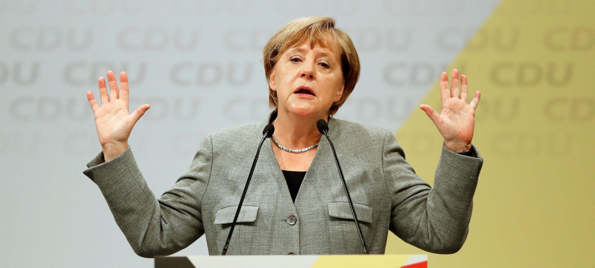 Merkel odbija zamrzavanje izvoza oružja u Tursku