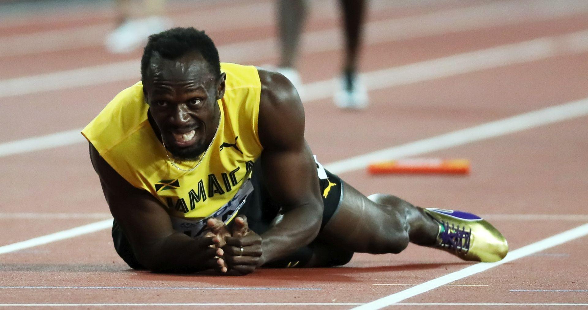 VIDEO: TUŽAN KRAJ Bolt se ozlijedio u zadnjoj utrci karijere