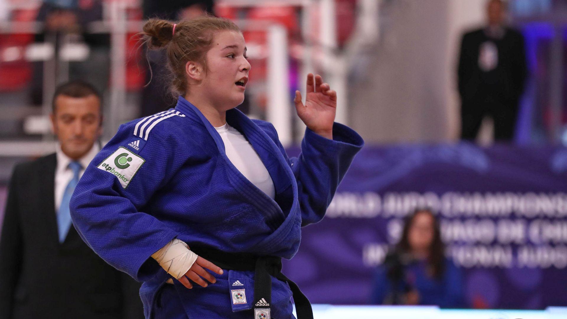 JUDO Helena Vuković svjetska kadetska prvakinja