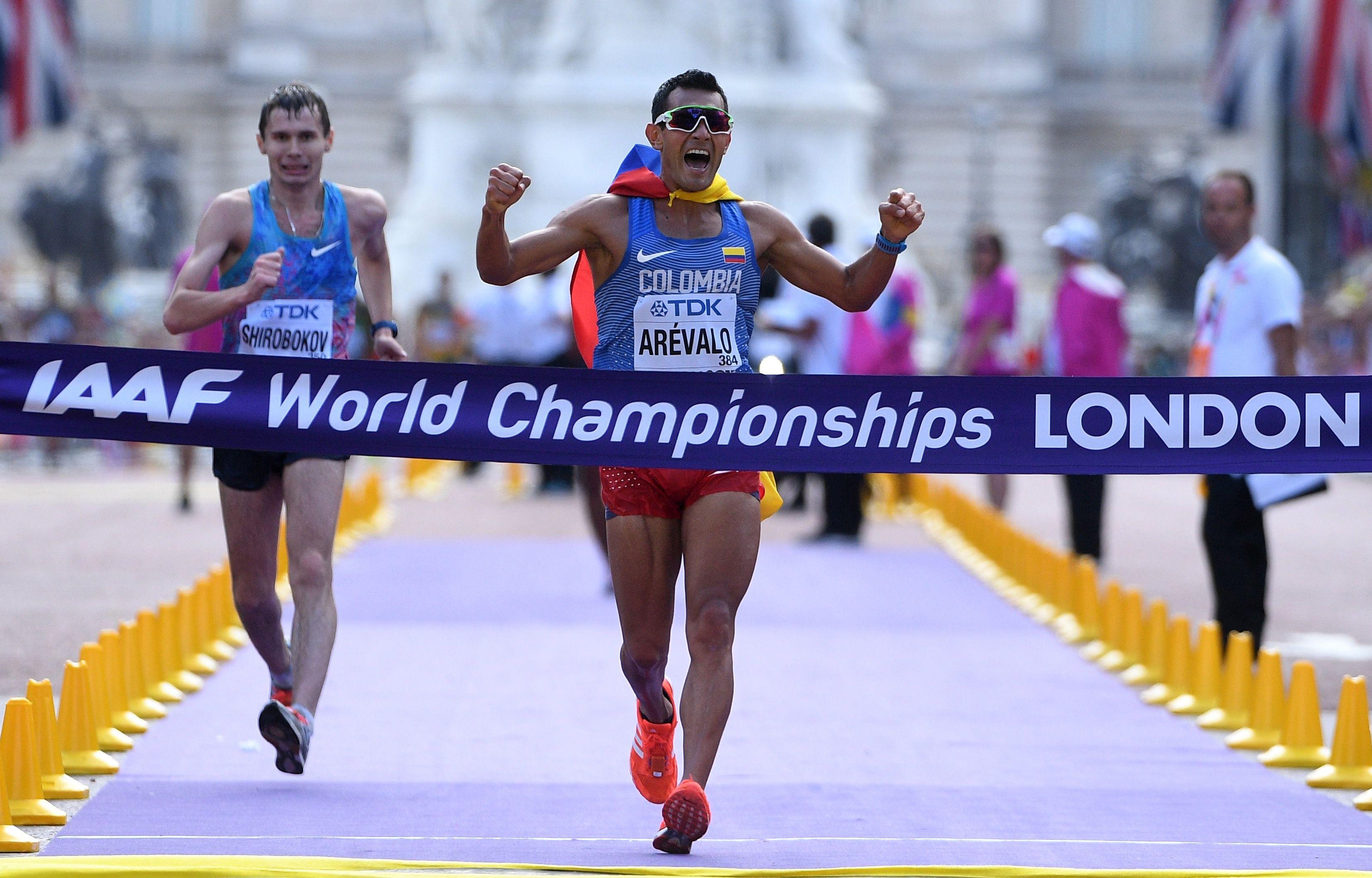 SP ATLETIKA Kolumbijac Arevalo najbolji hodač na 20km