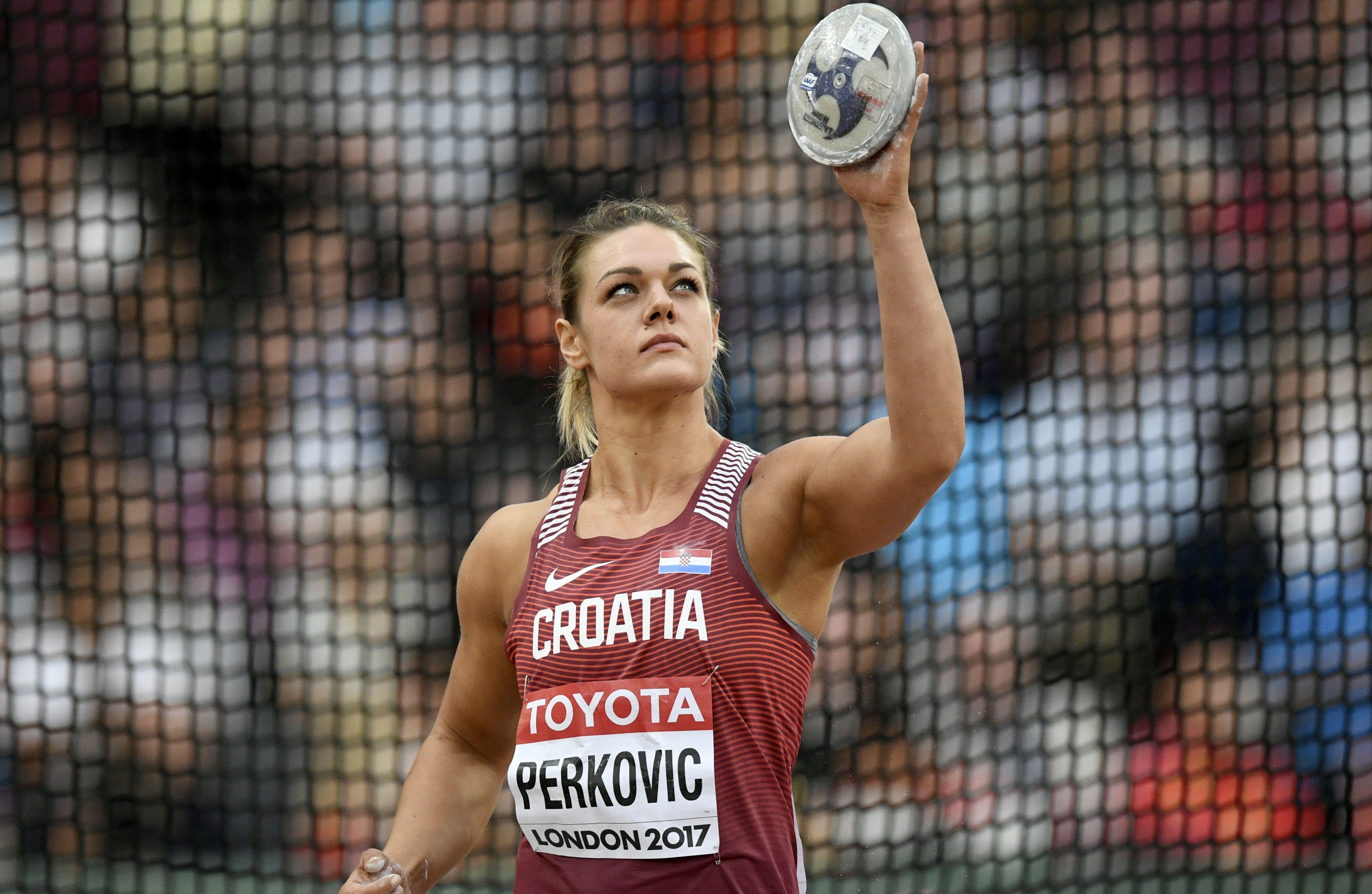Sandra Perković 10. najbolja sportašica svijeta