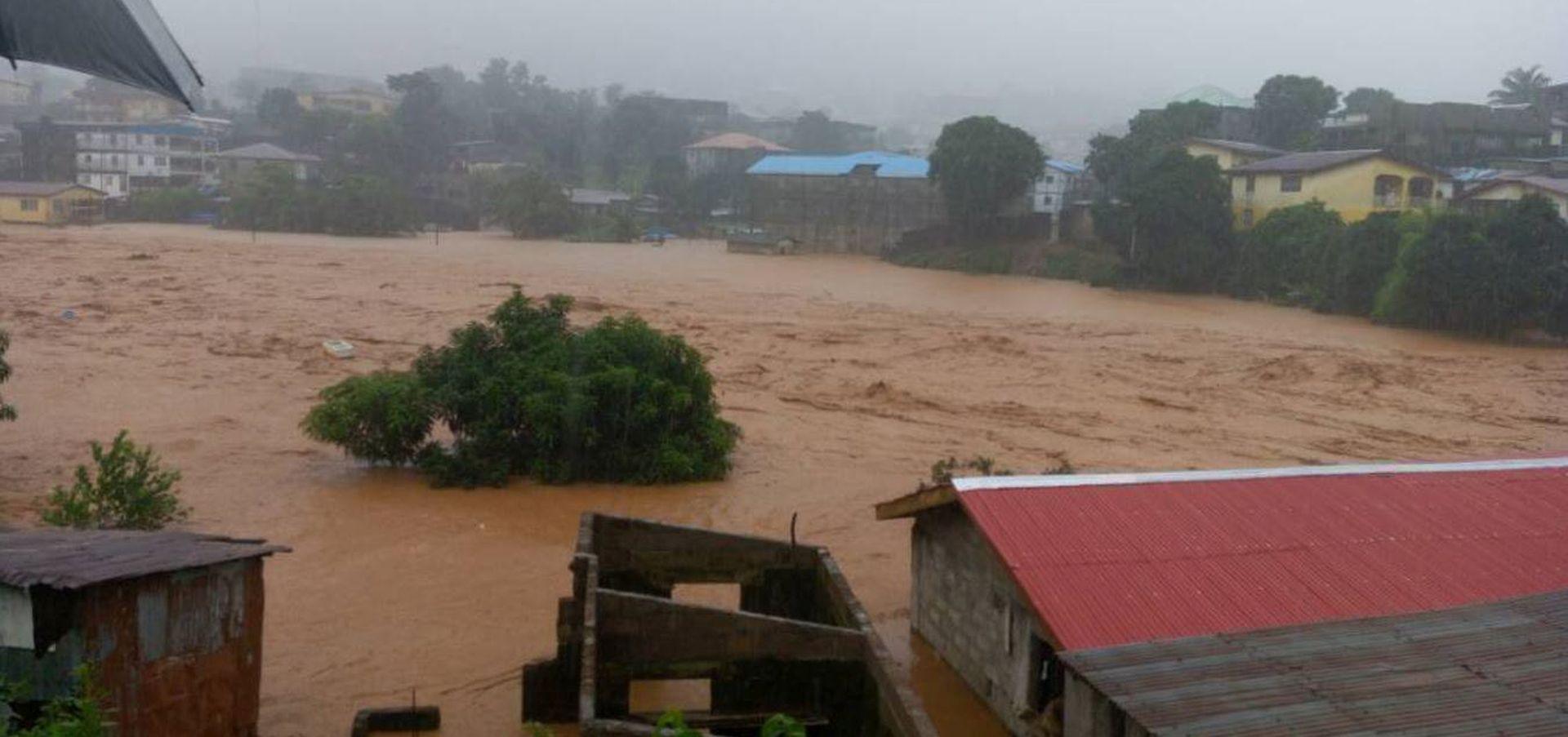 VIDEO: SIERRA LEONE Više od 300 osoba poginulo u odronu, spasitelji tragaju za nestalima