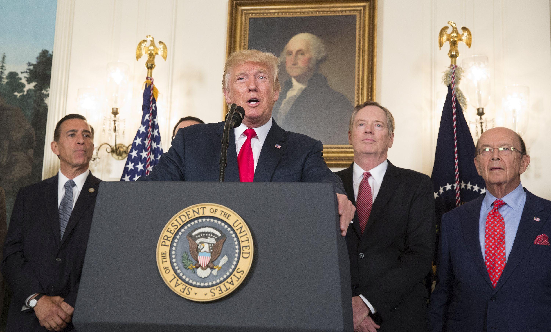 Trump potpisao memorandum o istrazi kineske krađe intelektualnog vlasništva