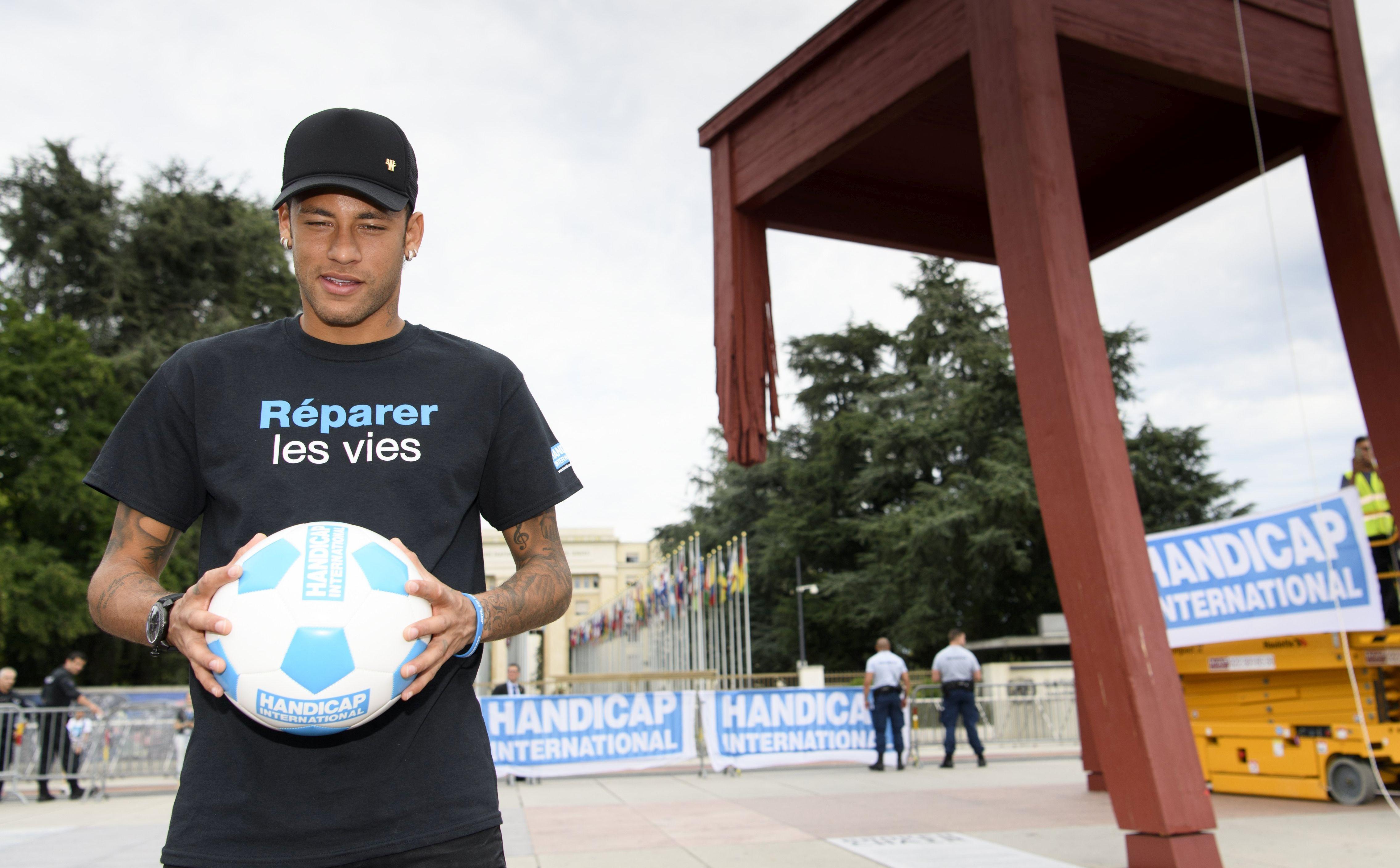 Neymar postao UN-ov ambasador za žrtve mina