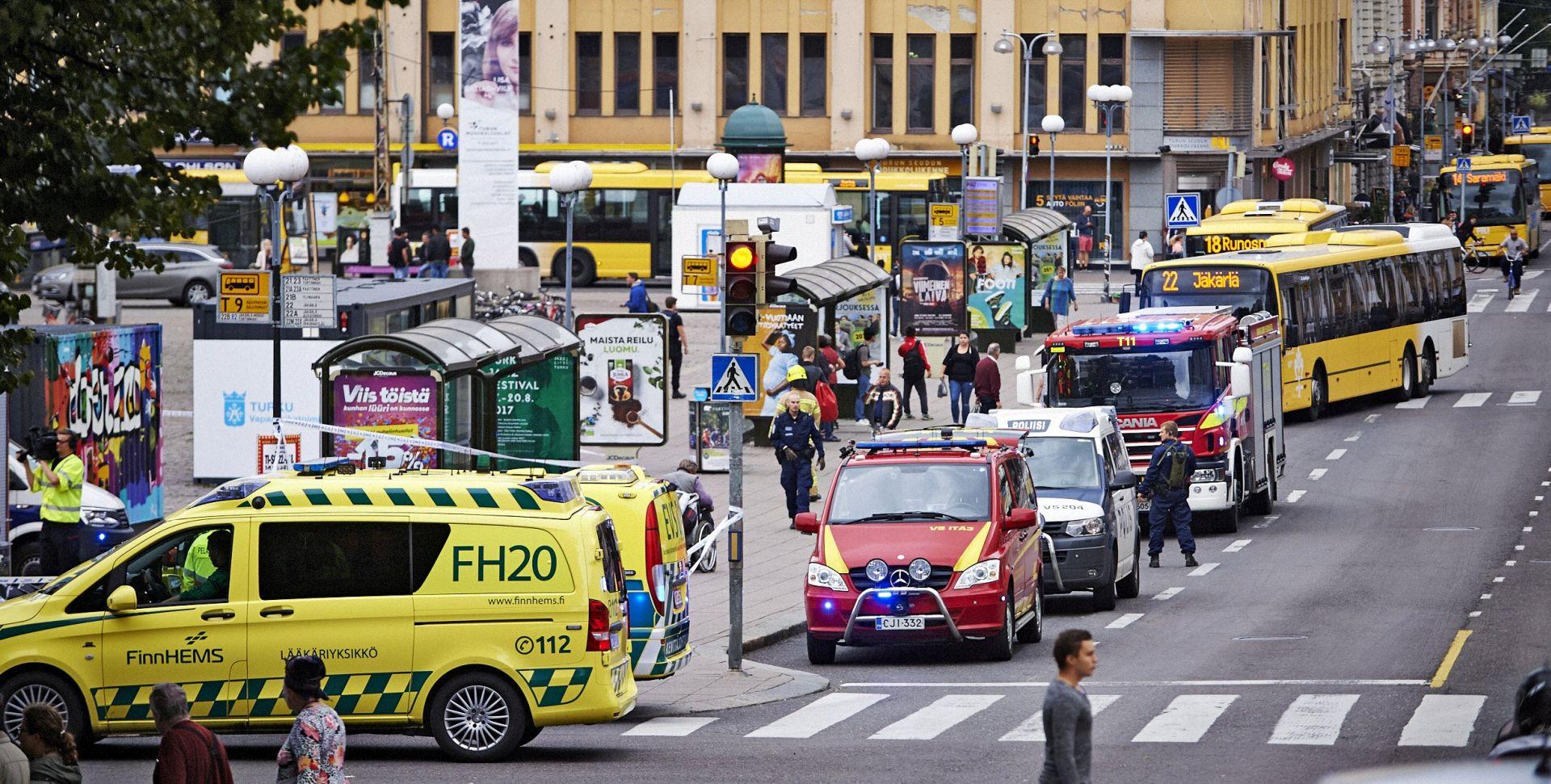 FINSKA U napadu nožem ubijene dvije osobe, policija ranila i uhitila napadača