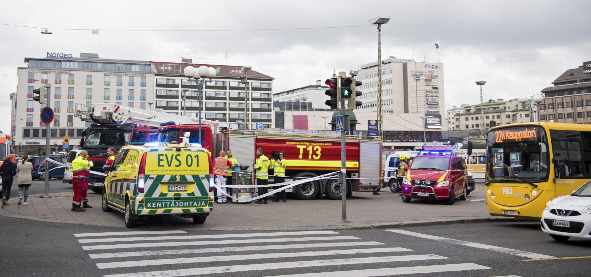 Napad u Finskoj policija ocijenila terorističkim, izveo ga Marokanac