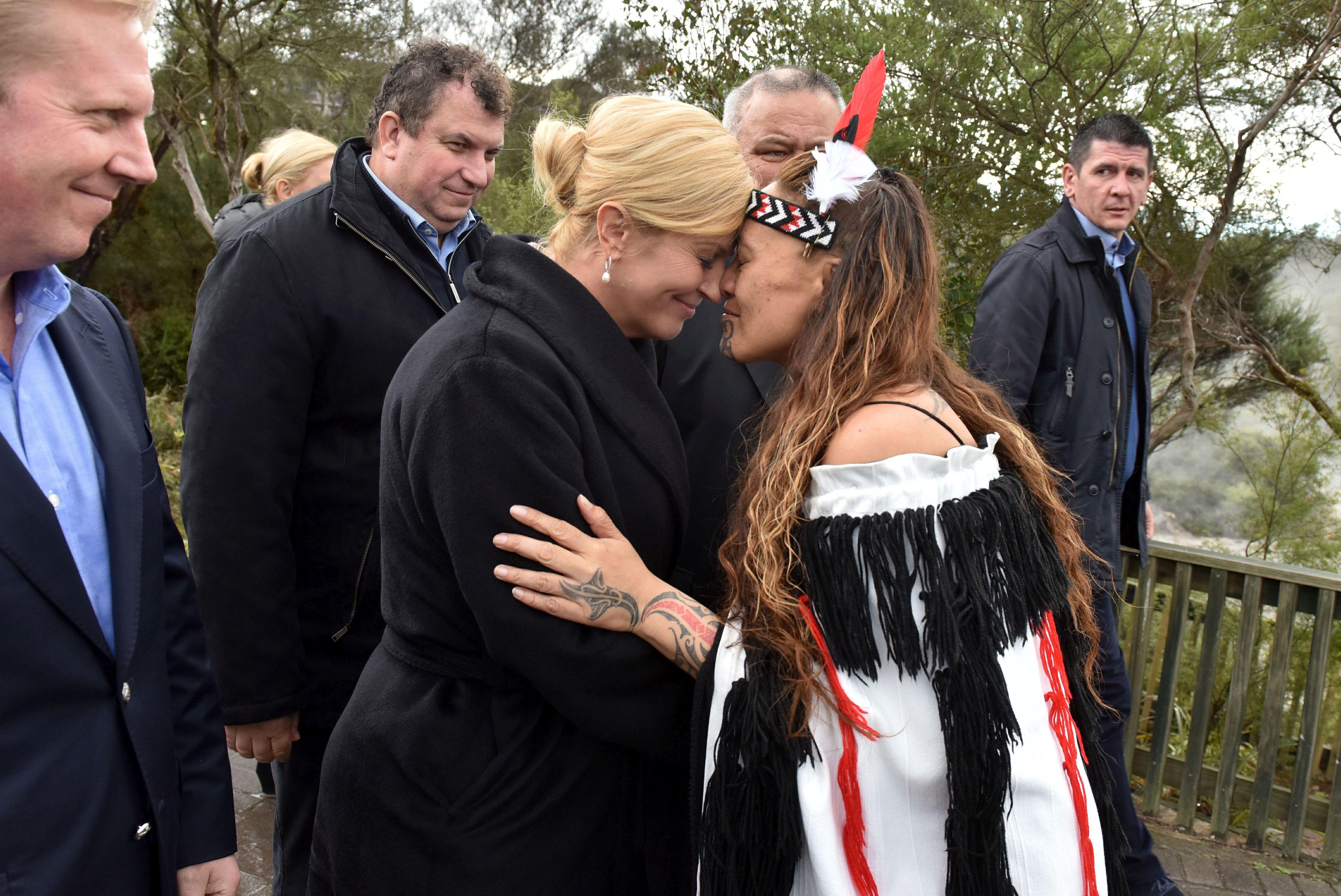 Grabar-Kitarović zatražila potporu Novog Zelanda za članstvo RH u OECD-u