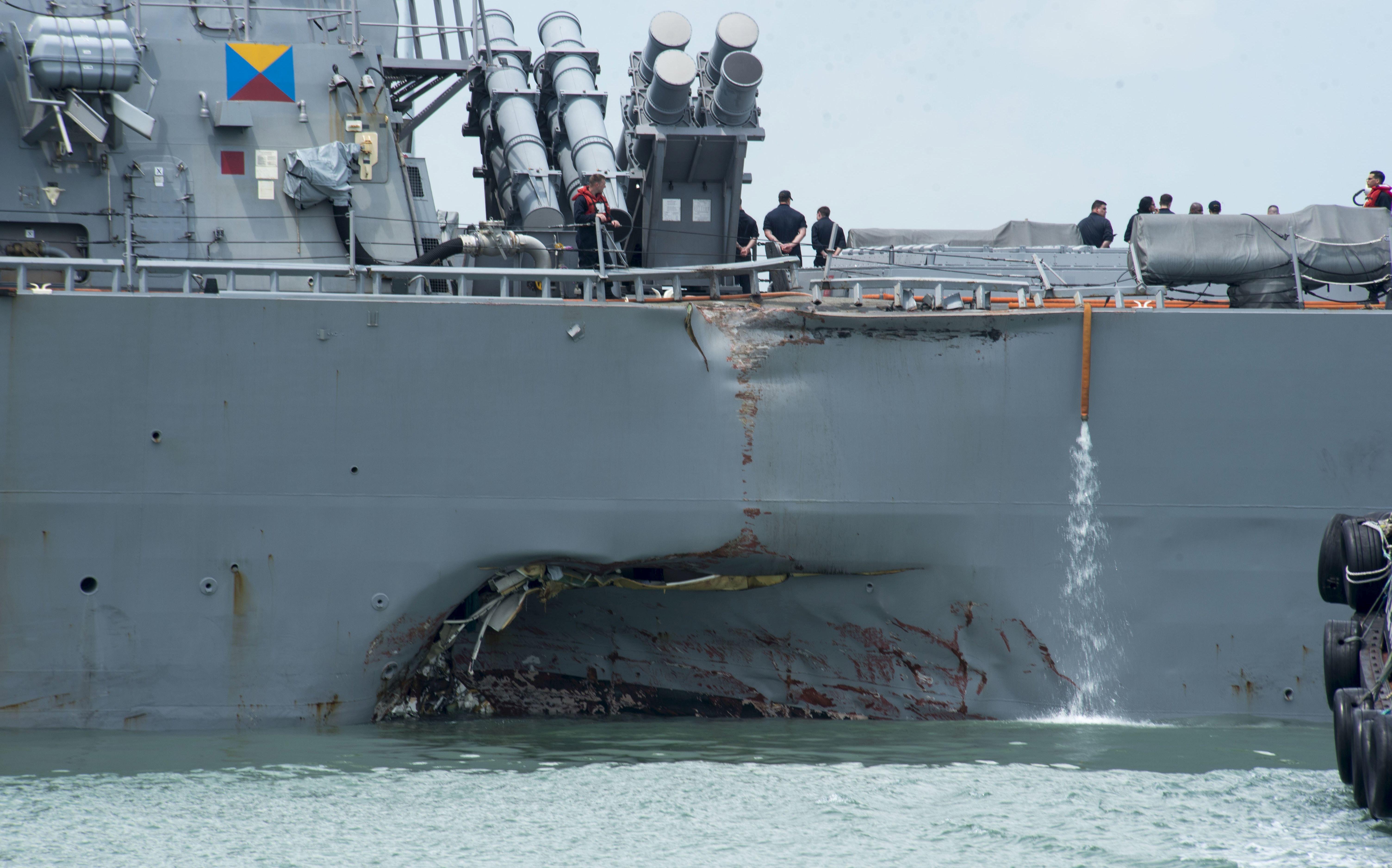 Zapovjednik američke 7. flote bit će smijenjen
